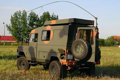 Radio stations based on vehicles | Military Communication Works No 2